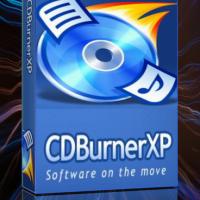 CDBurnerXP - полностью бесплатная программа для записи CD, DVD, Blu-Ray